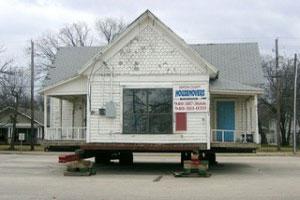 Odd Mobile Home