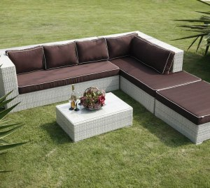 Outdoor Furniture on the Grass